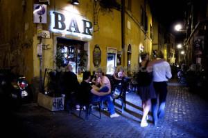 La vita notturna a Roma