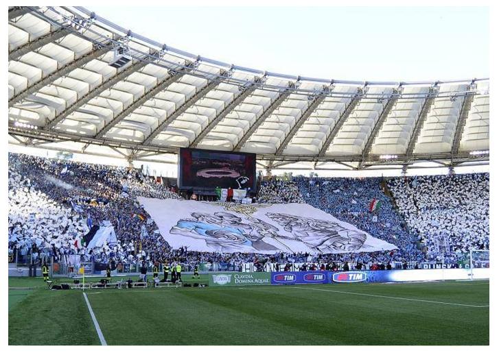 La Coreografia della Curva Nord, Finale di Coppa Italia